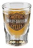 Harley-Davidson Core Bar & Shield Logo Shot Glass, 2 oz. - Clear HDX-98713