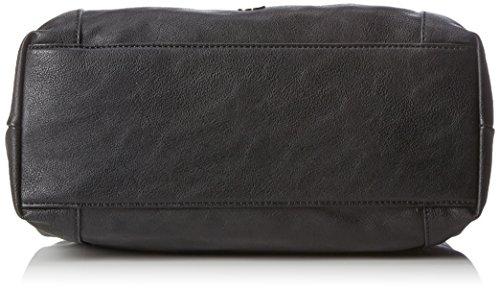Gerry Weber Damen Expression Shopper Lhz Schultertasche, Schwarz (Black), 12.5x29x34.5 cm