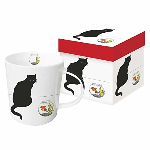 Gift Boxed Cat Goldfish Design