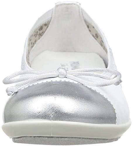 Elettra Primigi Ballerines bianco argento Fille Blanc ROOrxqd