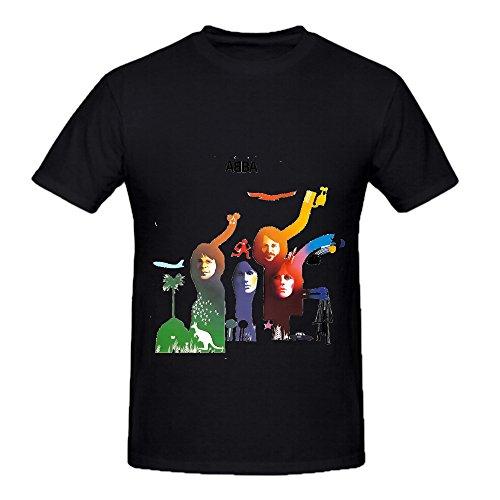 abba-the-album-pop-men-round-neck-customized-tee-shirts