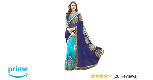 c9edc5f4b7 Saree Sari Designer Indian Dress Bollywood Ethnic Party Traditional (Free  Size