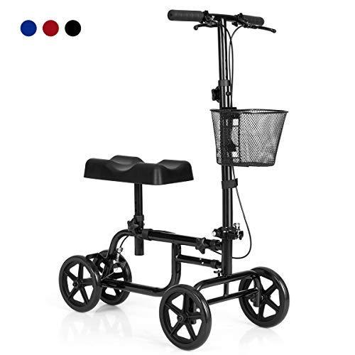 Giantex Steerable Lightweight Knee Scooter