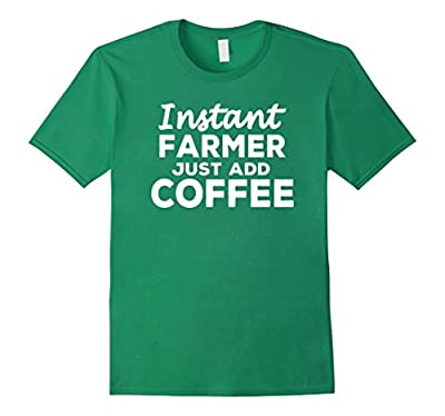 Funny Farmer T-shirt Gift for Coffee Lovers