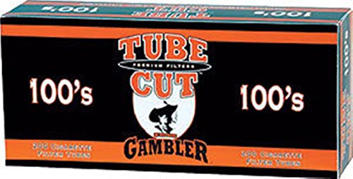 Gambler Tube Cut Full Flavor 100 Cigarette Tubes (200 Ct Per Box) 5 - Flavor Full Cigarette