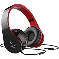 AILIHEN Wired Headphones with Microphone, Stereo Foldable...