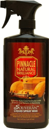 Pinnacle Souveran Liquid Spray Wax 16oz