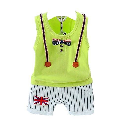 ftsucq-little-boys-flag-bowknot-vest-two-pieces-shorts-setsgreen-100