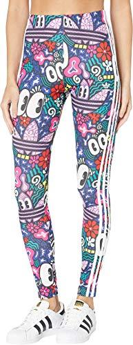 adidas Originals Women's 3 Stripes Legging, Multi, Small