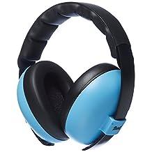 Baby Banz Baby-Boys Newborn Hearing Protection Earmuff, Blue, 3 months+