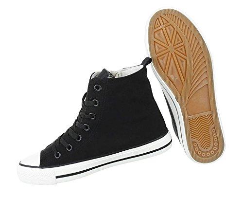 Damen Freizeitschuhe Schuhe Sneakers Sportschuhe Turnschuhe Sportschuhe Schwarz
