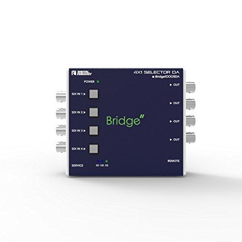 4x1 3G/HD/SD SDI Selector Distributor : Digital Forecast Bridge 1000_SDA by Bridge1000_SDA