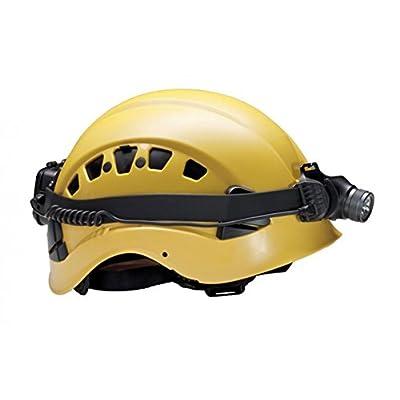 Élastique en silicone Noir: casque de montage pour Suprabeam Headtorches V3, V3r, V3+ & V3air (non inclus)