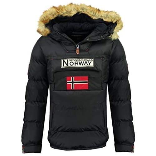 chollos oferta descuentos barato Geographical Norway Chaqueta de hombre BOKER AZUL MARINO talla XXL
