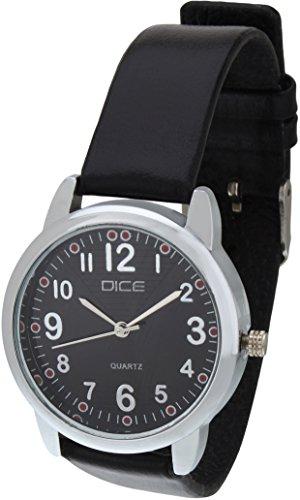 Dice Women's Analogue Black Dial Watch – GRC-B126-8816