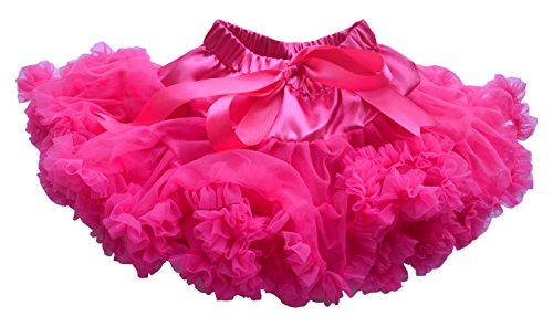 Dancina Tutu Infant Ballet Dress Up Costume Cakesmash Photoshoot Prop Petticoat 6-24 months Hot Pink