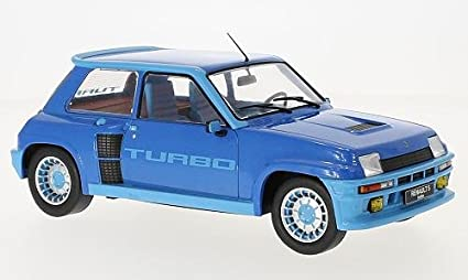 Renault 5 Turbo 1, metallic-blue, 1981, Model Car,, IXO