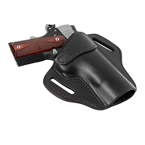 Relentless Tactical Ultimate Leather Holster 2 Slot OWB | Made in USA | Fits Most 1911 Style Handguns | Kimber - Colt - S & W - Sig Sauer - Remington - Ruger - Springfield & More