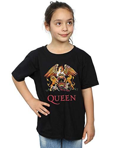 T Shirt Crest Logo Nera Cult Absolute Queen Girl 11rq6