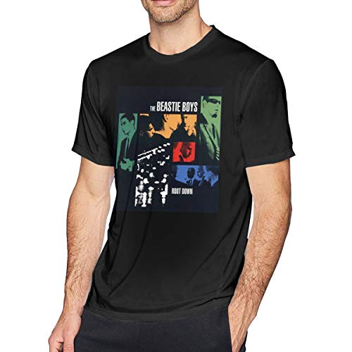 Sintee Beastie Boys Men's Short Sleeves Casual T-Shirt 5XL Black