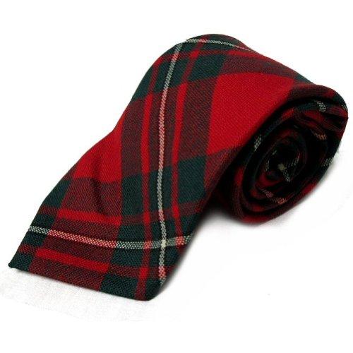 New MacGregor Tartan Tie 100% Wool - Made in Scotland