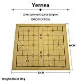 VT BigHome Chinese Chessboard Traditional Chinese Chess Board Game Set Soft Suede Leather One Side Checkerboard