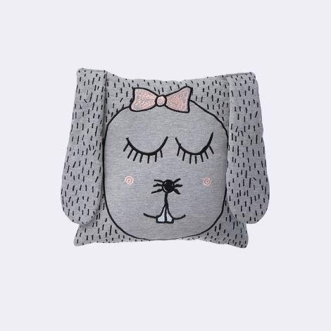 Ferm Living - Kissen Little Ms Rabbit 100% Bio-Baumwolle 30 x 30 cm B00SBW90Z0 Zierkissen