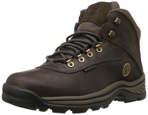 Timberland Men's White Ledge WP Mid Gaucho/Brown Boot 9.5 Men US by Timberland