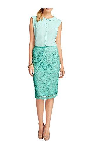 APART Fashion - Falda - Opaco - para mujer azul turquesa
