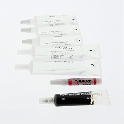 UPC 030656506953, Team Losi 8IGHT-E 4.0 Buggy: 3000CS/5000CS/7000CS Diff Fluid, 25/40 Wt Shock Oil