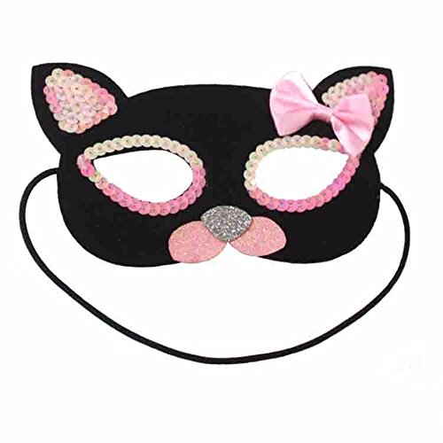 Mardi Gras Party Masquerade Mask,Cos Halloween Makeup Dance Children Half face mask Prom -