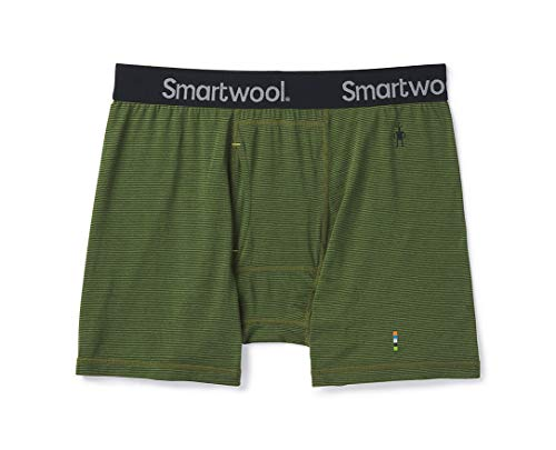 Smartwool Men's Base Layer Bottom - Merino 150 Wool Pattern Active Boxer Briefs