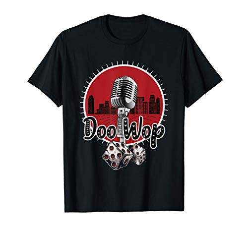 1950s Doo Wop 50s 60s Sock Hop Clothing Rockabilly Tshirt ()