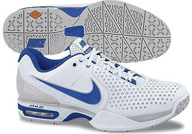 nowe niższe ceny niska cena świetne dopasowanie Amazon.com   Nike Air Max Court Ballistec 3.3 Wht/Blue ...