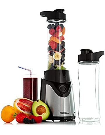 Sensio Home Personal Blender Smoothie Maker - Electric Mini Juicer Perfect for Fruit, Vegetables and