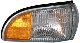 - TYC 18-1988-01 Chevrolet Passenger Side Replacement Side Marker Lamp with Corner Lamp