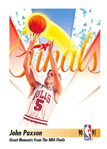 1991-92 SkyBox Basketball #336 John Paxson Chicago Bulls Official NBA Trading Card