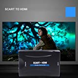 Bangcool Portable Professional Scart to HDMI Scaler Converter for 1080P HDTV STB