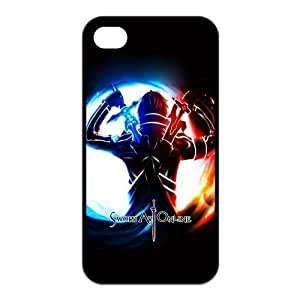 Fashion Sword Art Online Personalized For Iphone 4/4S Case Cover PC Silicone