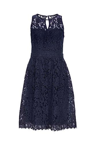 400 navy Azul Para Esprit Collection Vestido Mujer XwYgH