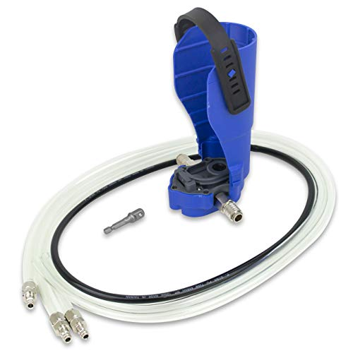 - Tool Guy Republic Fluid Transfer Pump - Powered by an Air Ratchet or Cordless Drill