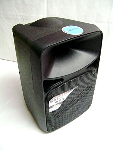 Audiopipe DJAP-B890BT Amplified Pro Active Loudspeaker w/ Rechargeable Battery