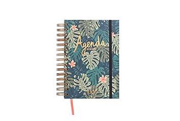 UO AG189PD2 - Agenda 2018-2019 día página, diseño Paradise