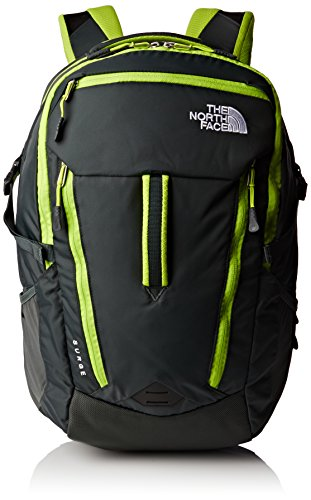 North Face Surge - Mochila, color verde, talla OS