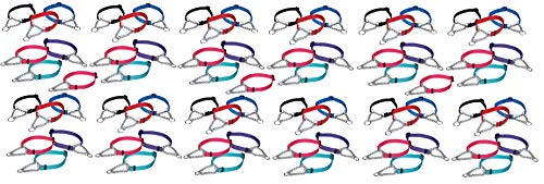 75 Chain Martingale Dog Collar Bulk Shelter Rescue Vet Assorted Color Pick Size (Medium - 14 to 20 inch) by MPP (Image #1)
