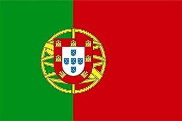 U24 Aufkleber Portugal Flagge Fahne 8 X 5 Cm Autoaufkleber Sticker Auto
