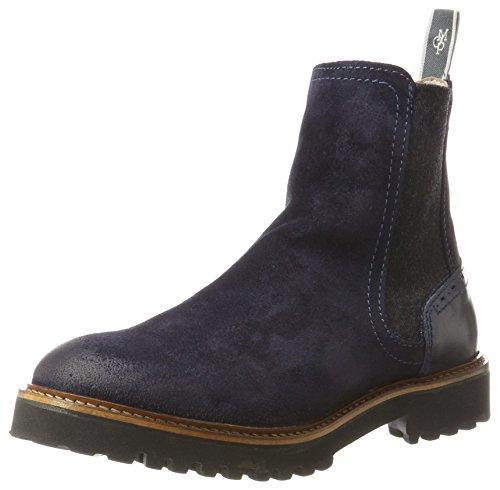 Marc O'Polo Women's Flat Heel 70814235001312 Chelsea Boots Blau (Navy) clearance 2015 new wwRUng