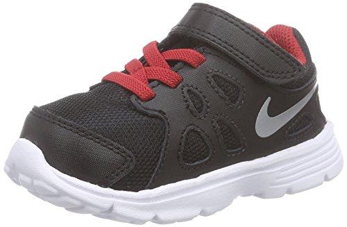 Nike Jungen Junior Revolution 2 TDV Laufschuhe Schwarz (Schwarz)