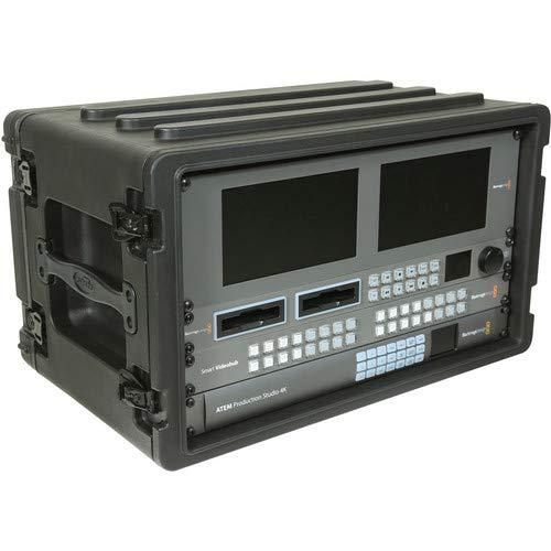 6U Roto Shallow Rack Case with Steel Rails [並行輸入品]   B07P8CV91K
