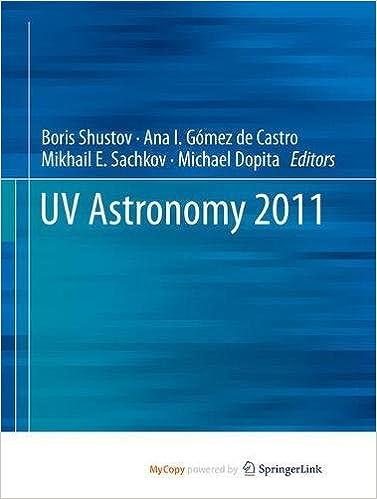 UV Astronomy 2011